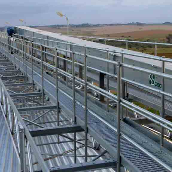 Silver Span® Conveyor Support System